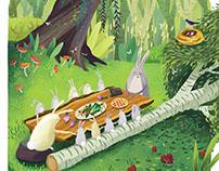 Bear & Squirrel Calendar