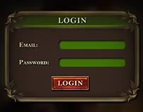 Ancient Game UI Design