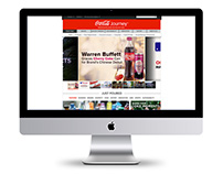 The Coca-Cola Company Website Redesign
