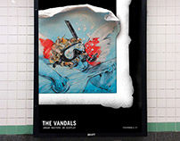 """The Vandals: Urban Masters on Display"" Brand Identity"