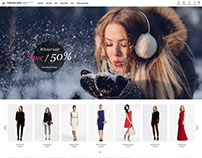 Fashion Shop VirtueMart Template