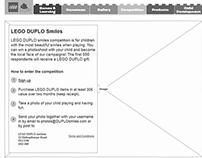 LEGO DUPLO Campaign Page