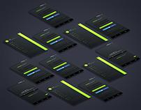 Side menu Mobile APP UI &UX Inspiration Interface.