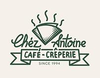 Chez Antoine Creperie Logo