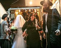 Haredi wedding in Bnei Brak, Israel