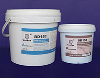 Wear resistant ceramic special adhesives