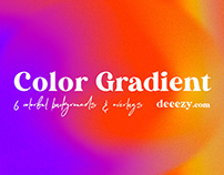 Free Color Gradient BG & Overlays