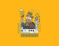 Satay King | Illustration