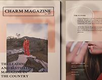 Charm Magazine Brochure