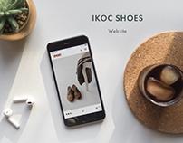 Website for IKOC brand