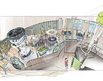 Science Center Illustrations