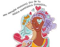 coração carnaval