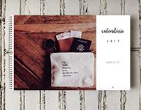 calendar «wanderlust»