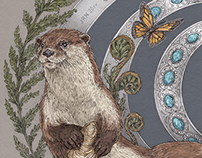 Otter - Animal Birth Totem