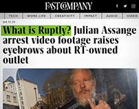 Ruptly breaks Assange's arrest