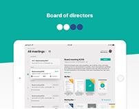 Board of Directors (Tablet)