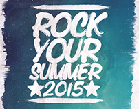 Rock Your Summer Flyer/Poster