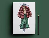 Ilustración de moda - Sketches