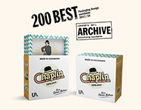 Chaplin - 100 anos | 200 Best Packaging Design worldwid
