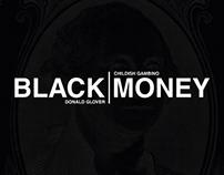 Black l Money - Childish Gambino Concept CD