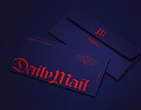 Daily Mail rebranding concept / 2019