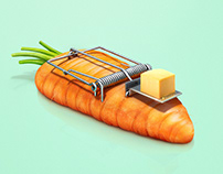 """Nestlé Cheese - """"The Trap"""" No more veggie haters."""