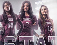 2015 Mississippi State Volleyball & Soccer Posters