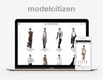 Modelcitizen - Ecommerce Sites (Shopify)