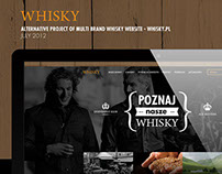 Whisky.pl alternative concept