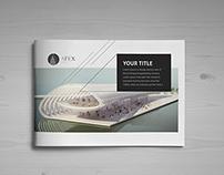 Minimal Modern Black & White Architecture Brochure