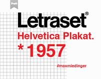 Helvetica *1957. - poster