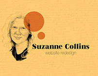 Suzanne Collins- Website ReDesign