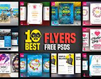 10 Best Flyers Free PSD