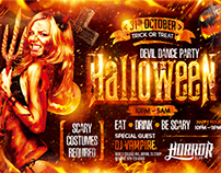 Halloween Night Party Flyer vol.2