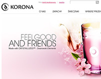 Korona website