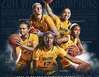 2016-17 Toledo Women's Basketball Poster