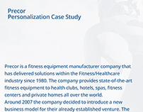 Precor Personalization Case Study