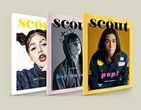 EDITORIAL DESIGN : Scout Magazine