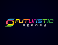 Futuristic Agency Logo Work