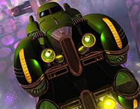 Aircar Tech Noir: Escape From Deneb IV