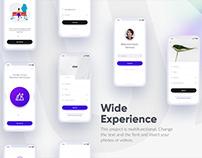 Mobile UI Mockup