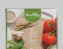 Healthy Living Magazine Rebrand