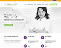 Health Center WordPress Theme