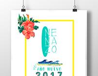 Afiche Año Nuevo - Nenazo