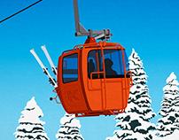 Killington Ski Resort Poster