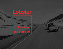 Lobster Trailers. ID & web design