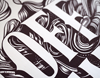 I Drifted Off For A Moment | Typographic Artwork