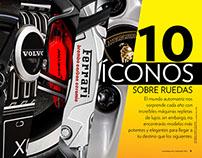 10 iconos sobre ruedas (septiembre 2015)