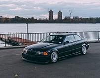 BMW E36 Ronal Turbo