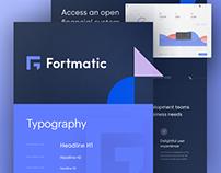 Fortmatic Branding & Ui